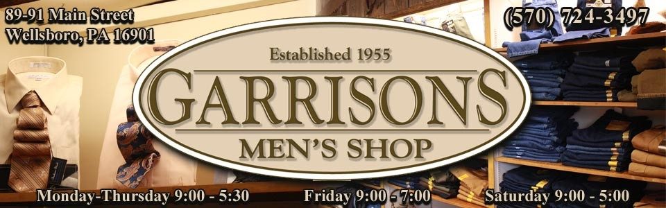 Garrisons Mens Shop